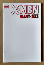 X-MEN GIANT SIZE #1 FIRST PRINT - BLANK VARIANT MARVEL COMICS (2011) WOLVERINE