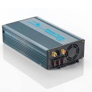 2d0889499a2d0 BRAND NEW 1200 2400 WATT 12V DC TO 115V AC MOBILE POWER INVERTER ...