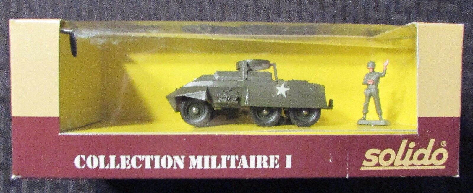 SOLIDO Collection Militaire I M 20 M20 MIB C-7 1 43 French