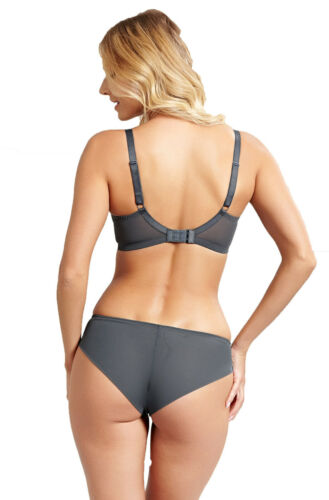 Pink Panache 9482 Petra Brief in Charcoal