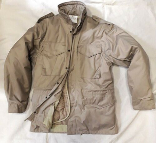 M65 Beige Khaki 65 Americana Giacca M Field Nuova Parka Militare Jacket Aw7Pn5BqU