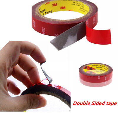 New 3M 18mm Auto Car Acrylic Foam Double Sided Attachment Adhesive Tape uk T357