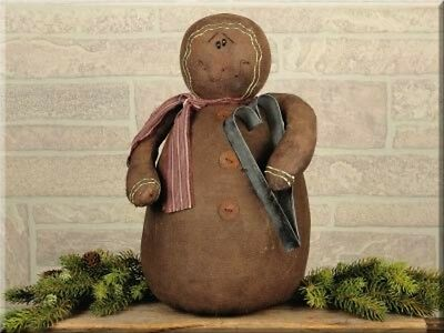 Primitive `Large `Cookie Cutter`Gingerbread Man Doll``Honey and Me`Retail $39.99