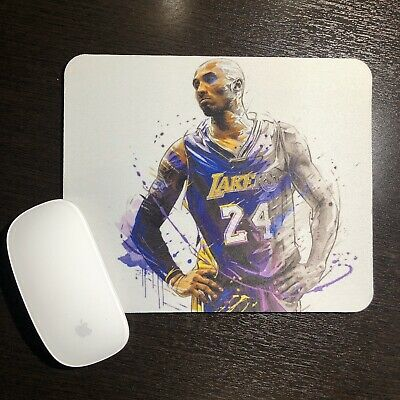 Kobe 2020 You are in Control Desktop Office Silicone Mouse Pad by Debbies Designs