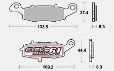 Plaquettes de frein arrière Kawasaki VN 1500 classic / nomad 2003 à 2007 (S1435)