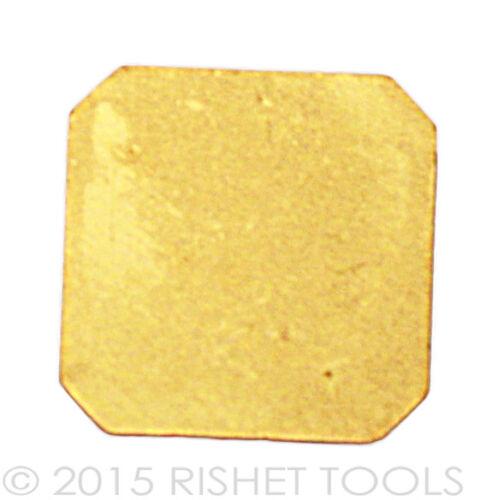 SPKN 1204 EDR TiN Coated Carbide Inserts RISHET TOOLS SPKN 43 EDR 10 PCS