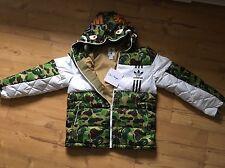 Adidas X Bape ID96 EU *M* JP *L* Down Jacket Jacke New A Bathing Ape No NMD Camo