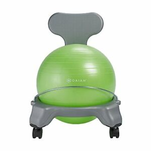 Magnificent Details About Gaiam Kids Balance Ball Chair Classic Childrens Stability Ball Chair Child C Caraccident5 Cool Chair Designs And Ideas Caraccident5Info