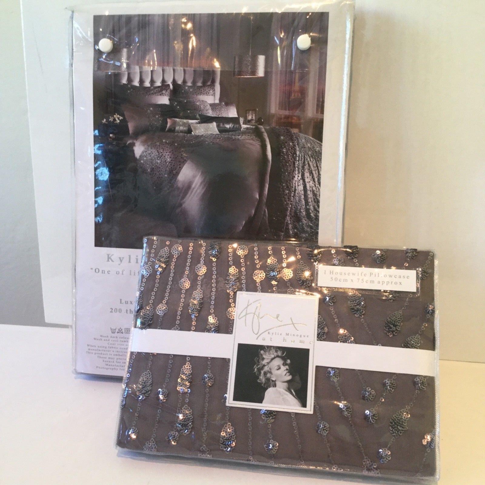 Kylie Minogue Eva Mauve single Größe Bedding Set Duvet Pillows Quilt