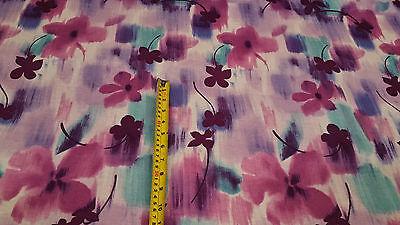 Quality Print Viscose Jersey Stretch Lycra Dress Fabric Cotton Material New