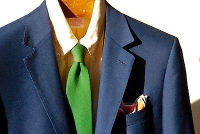 Mattarazi Uomo 36 Gentleman's Royal Blue 2-Button Sport Coat - Italy