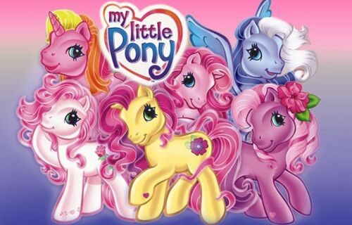 Personalised Edible My Little Pony Cake Topper Icing or Wafer Paper