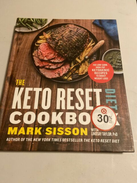 The Keto Reset Diet Cookbook : 150 Low-Carb, High-Fat ...