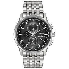 Citizen AT8110-53E World Chronograph A-T 43mm Analog Display Watch for Men