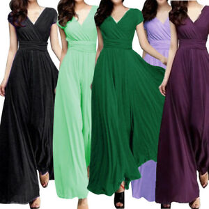 9269a0f003 Image is loading Fashion-Summer-Women-Casual-Solid-Chiffon-V-Neck-
