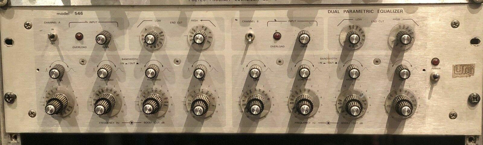 Urei 546 Vintage Stereo Parametric EQ