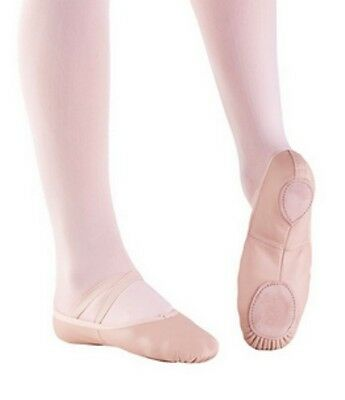 Full Sole Leather Ballet Shoe Tots 9.5 Pink Toddler 11M Angelo Luzio 201C T