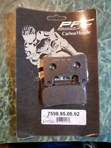 PFC Brake pads Carbon Metallic TR#614960  PFC#7598.95.08<wbr/>.92