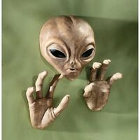 Alien Wall Decor Design Roswell Plaque Sculpture Art Mural Martian Et Decoration