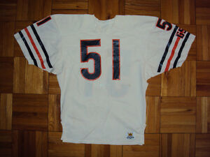 release date: 8a80a 7d36f Details about 80s Authentic Dick Butkus Bears Sand-Knit jersey 44 PRO-Line