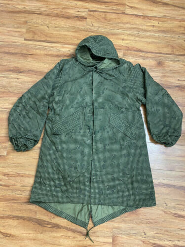 Military Army Parka Night  Camouflage Vintage Dese