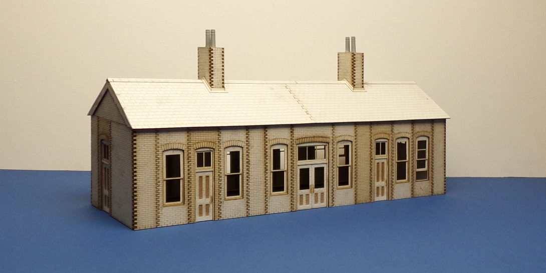 O gauge (7 mm) Early 20th century country country country Railway Station  - LCC B 70-21 8e4a79