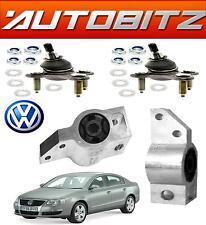 FITS VW PASSAT 05-14 FRONT WISHBONE LOWER BALLJOINTS & WISHBONE ARM BUSHS