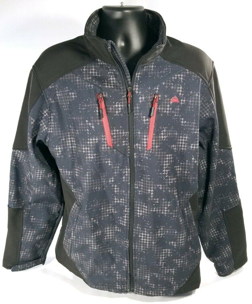 Snozu Performance Womens Full Zip Soft Shell Jacket Fleece Lined Sz 2XL Snow