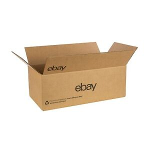 "14"" x 7"" x 5"" (Shoe) Boxes – Black Logo"