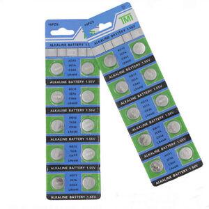 10PCS-PILE-AG13-LR44-L1154-1-55V-Button-Coin-Cell-Alkaline-Batteries-Useful