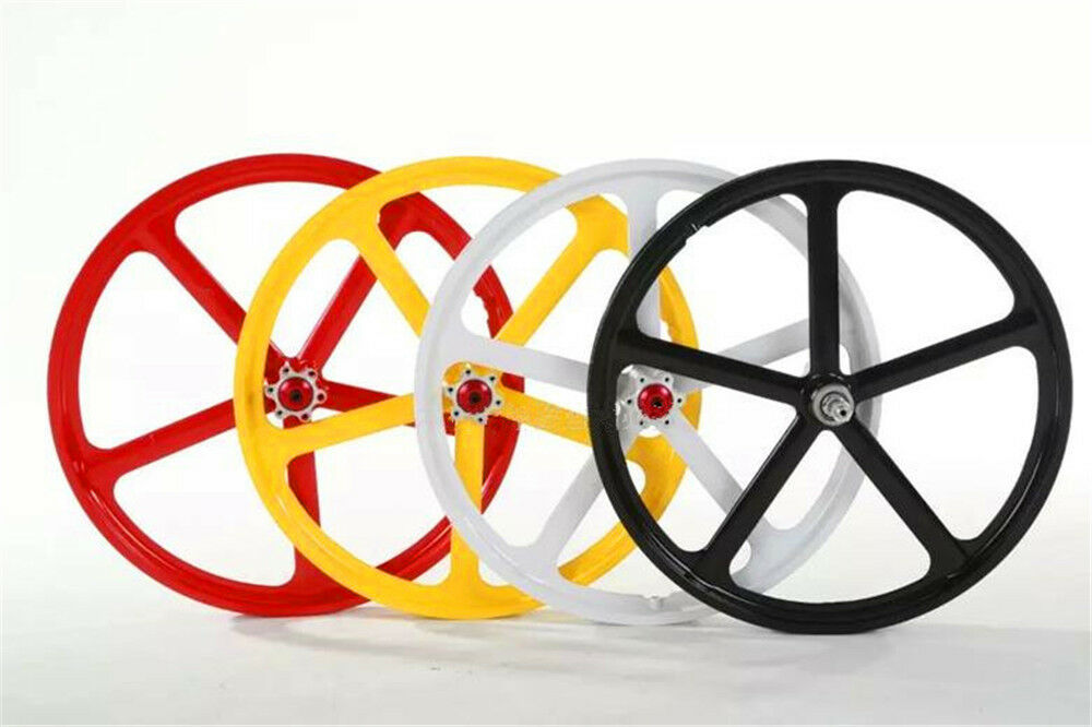 20    5-Spoke 406 MTB Bike Mag Front  Rear Wheelset Rim Disc Brake 7 8 9 10 Speed  10 days return