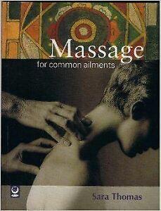 Massage-for-Common-Ailments-Common-Ailments-Series-Thomas-Sara-Very-Good-P