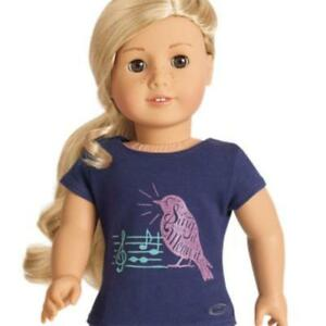 American-Girl-Doll-Tenney-039-s-Concert-Tee-for-Dolls-No-Doll-Genuine