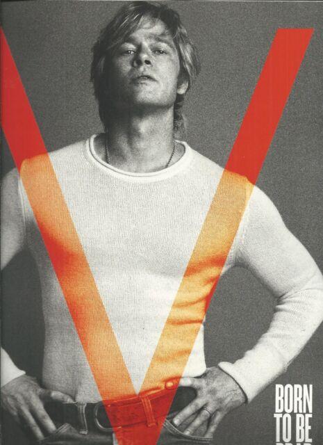 V Man fashion magazine Brad Pitt Lee Daniels Miley Cyrus Jennifer Jason Leigh