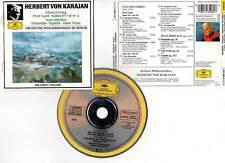 """GRIEG """"Peer Gynt"""" / SIBELIUS """"Finlandia, Tapiola, Valse Triste"""" (CD) Karajan1988"""