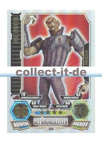Force Meister Force Attax Serie 3 234 OSI SOBECK Gefängsnisleiter