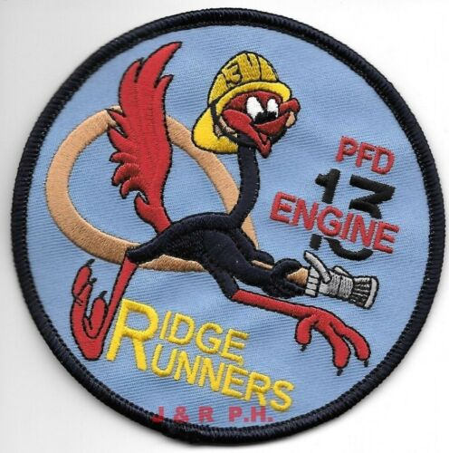 "13 /""Ridge Runners/"" PA fire patch Philadelphia  Engine 4/"" round size"