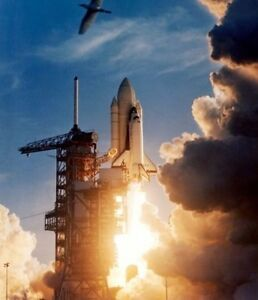 Space Shuttle COLUMBIA First Launch Mission STS-1 New 8x10 NASA Photo