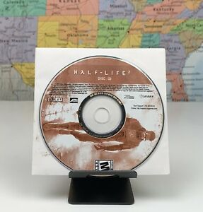 SHIPS SAME DAY Half-Life 2 PC GAME 2004 Disc 3 Disk Three Only