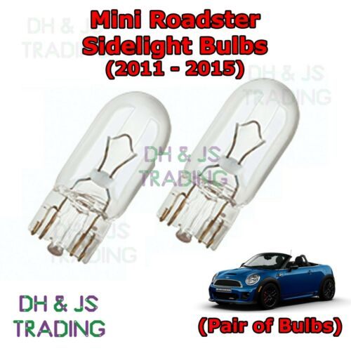 Park Lights Pair Side Light Bulb Bulbs Mini Roadster Front Sidelights 11-15