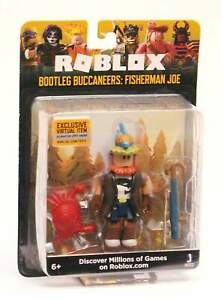 2019 Roblox Figure Bootleg Buccaneers Fisherman Joe W Exclusive