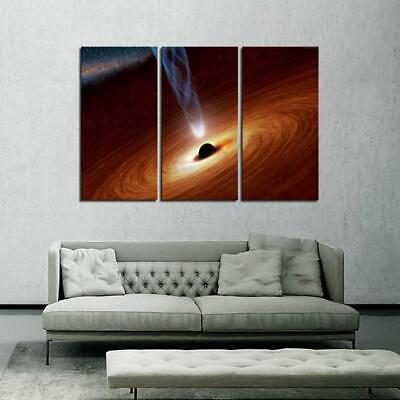 Black Hole 1 Poster Canvas Picture Art Print Premium Quality