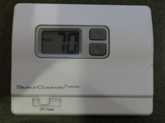 ICM CONTROLS AN7827//SC2016 24 VAC 1 HEAT//1 COOL NON-PROGRAMMABLE THERMOSTAT
