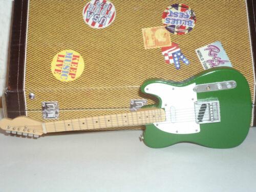 Sammlung von Guitars of the StarsRossi - Status Quo Telecaster  17 cm NEU! # 5