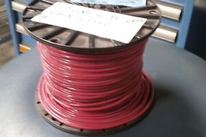 ENCORE WIRE 106100703440 14 RED STRAND COPPER TYPE MTW OR THHN OR ...