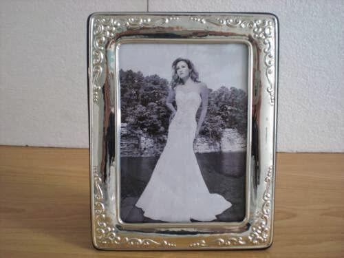 Cadeau de mariage fait main argent Sterling cadre photo  1010 13 × 18 gbnew
