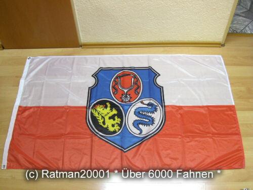 90 x 150 cm Fahne Flagge Dachau Digitaldruck