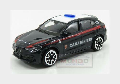 Alfa Romeo Stelvio Carabinieri 2017 Blue White BURAGO 1:43 BU30310-STELVIO Model