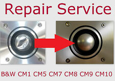 B&W CM1 CM5 CM7 CM8 CM9 CM10 Dome Replacement Diaphragm Tweeter Speaker REPAIR