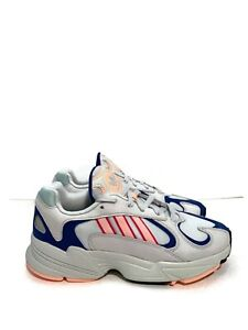 Details about New In Box Adidas YUNG 1 Crystal White Clear Orange Royal Blue BD7654 Size 8.5